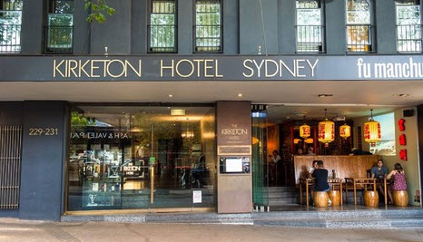 Kirketon Hotel - Tour Australia In Style - Australia Travel