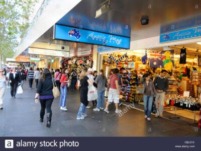 Swanston Street Shops - Tour Australia In Style - Australia Travel
