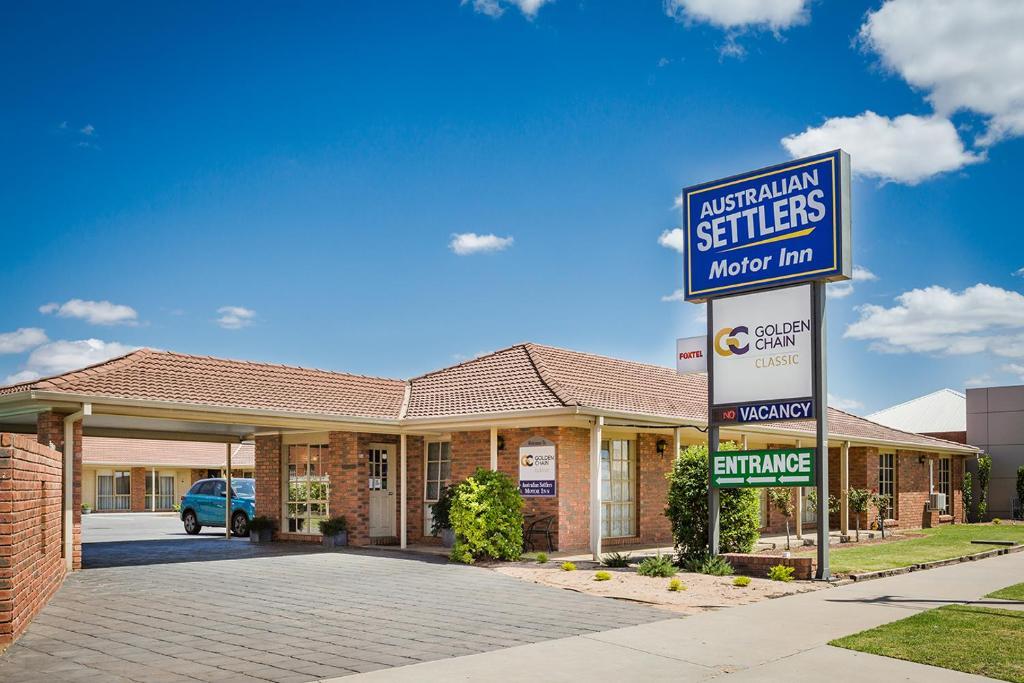 Australian Settlers Motor Inn - Swan Hill - australian settlers